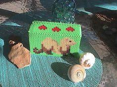 Ferret Theme Perler Bead Box