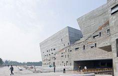 Ningbo Museum of History, Zhejiang, China, built: 2009, architect: Wang Shu, photo: Iwan Baan