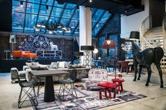 Showroom da Moooi em Nova York
