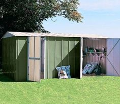 As a premium structure, the Canberra 10ft wide x19ft deep Metal Workshop is manufactured from top grade high tensile hot dipped galvanised steel throughout.