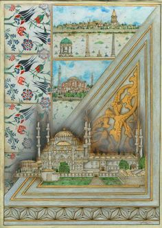 Sultanahmet camii Turkey Art, Mosaic Pictures, Examples Of Art, Islamic Calligraphy, Cartography, Islamic Art, Traditional Art, Decoration, Textile Art