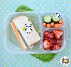 Quick and easy bento @EasyLunchboxes via Meet The Dubiens