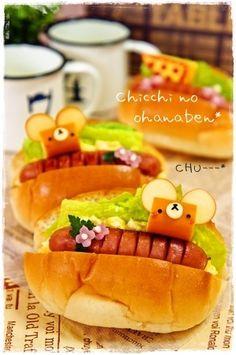 Mice bread roll