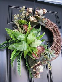 Designs by Pinky: ~~~A New Winter Wreath!!!~~~