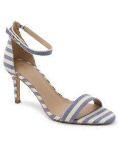 Bcbgeneration Maxana Dress Sandals Women's Shoes In Blue Multi Stripe Blue Shoes, Women's Shoes, Shoes Photo, Dress Sandals, Bcbgeneration, World Of Fashion, Luxury Branding, Kitten Heels, Dresses