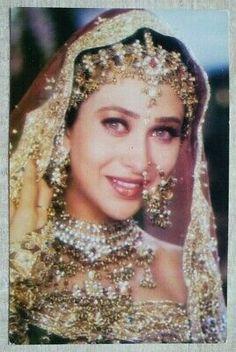 Kai Arts, Punjabi Suit Neck Designs, Karisma Kapoor, Indian Bollywood Actress, Post Card, Actresses, Bride, Cards, Prints