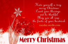 Advance Merry Christmas Greeting Cards