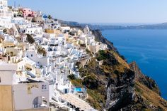 Santorini - Greece ( I want to visit so badly!)