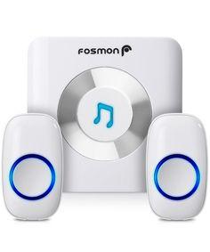 Fosmon Wavelink Wireless 51008hom Doorbell Operating Range 300m/1000ft Tune4  #Fosmon