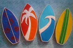 Cupookie: Drummer/Surfer Birthday Bash