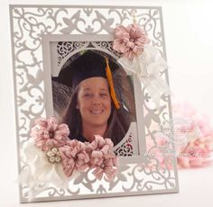 Custom Frame by Becca Feeken using Spellbinders Swirl Bliss Pocket - www.amazingpapergrace.com