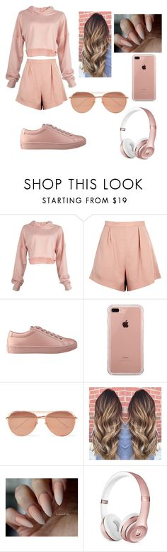 """♡"" by bocheva ❤ liked on Polyvore featuring Finders Keepers, GUESS, Belkin and Linda Farrow"