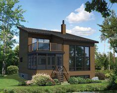 Kyo maison passive maison contemporaine de 1292 pieds for Veranda surface habitable ou pas