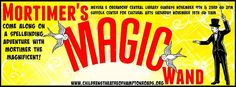 2014-Nov 9th & 23rd - Mortimer's Magic Wand, VB Central Library Theatre