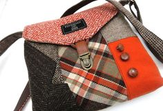 These fabulous, classic bags are made from stuffy old men's suits : TreeHugger - AWESOME - I want one!!