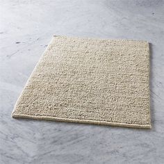 Shop hannah reversible linen bath mat.  Nubby on one side, plush on the other, absorbent linen mat reverses to fit your mood.