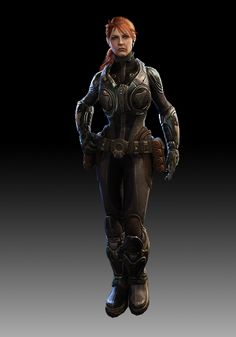 "Sofia Hendrik...one of the main protagonists of ""Gears of War: Judgement"" *Awesome another female Gear!"