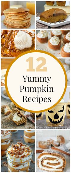 12 Yummy Pumpkin Recipes - These all look amazing!! YUM! www.classyclutter.net
