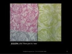 Our Rose fabric