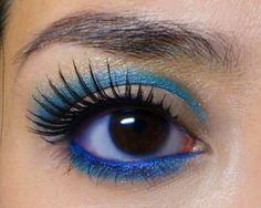 Blue Baby-Doll Mod Eye  http://makeupbox.tumblr.com/post/18244784533/blue-baby-doll-mod-eye-this-is-an-adaptation