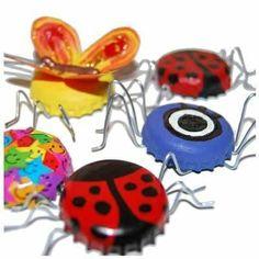 capsules arraignées papillons...