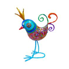 Bird sculpture Bird decoratingBird decor original by MIRAKRIS