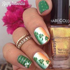 19 Glam St. Patrick's Day Nail Designs from Instagram