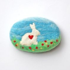 More felted soap from SoFino.