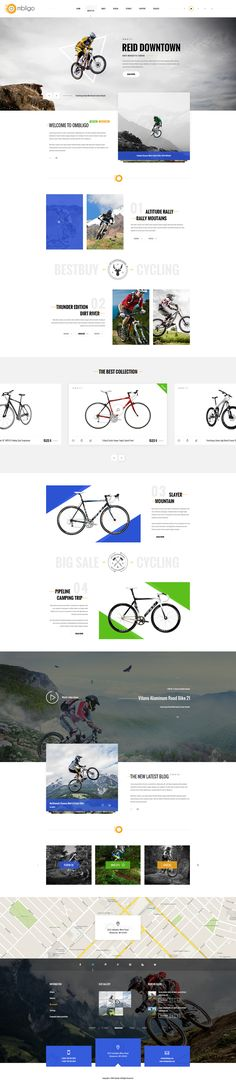 Ombligo Shop – Multi Concept Motorbike & Cycling is a uniquely ecommerce website template designed for multi purpose. This template is a premium template design especially for Motorbike & Cycling s...