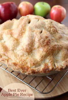 Recipe: Best Ever Apple Pie & Recipe for a Double Pie Crust #MyMarianos #shop