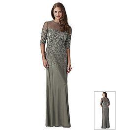 Long dress by george shaghashvili bon ton pinterest for Elder beerman wedding dresses