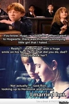 you know hugo said ron - Google Search