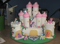 my little pony birthday cake ideas | My Little Pony Castle - Cake Decorating Community - Cakes We Bake