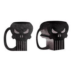 Punisher Skull 16 oz. Molded Mug