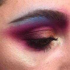 "1,971 Likes, 20 Comments - Gabrielle Alvarez (@midnight_weirdo) on Instagram: ""Fireworks  PRODUCTS USED:  @suvabeauty Sangria Sundays and Funny Face  @katvondbeauty Doom…"""