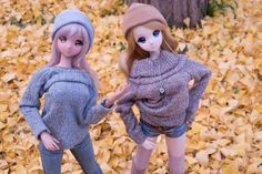 Smart Doll Ebony and Kizune Yumeno by spgd_minai
