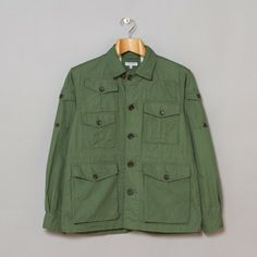 Engineered Garments Expedition Jacket Olive Cotton Ripstop