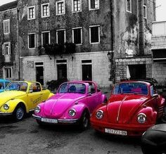 Estacionamento colorido, hein?