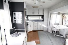 Lovely remodel... similar to what we are doing!  From the States to Sudan: Camper: Remodeled!
