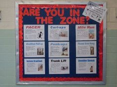 1. I like this because it shows students which zone their in and it  may push themselves to reach the healthy zone. 2. It may be difficult to use if some students don't try to push themselves to reach certain zones.