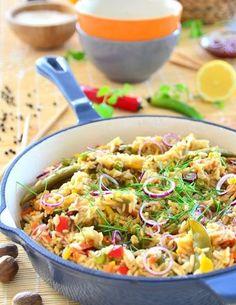 Aromatyczny ryż z warzywami