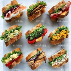 Enjoy the premium texture of bread and ingredients Sandwich & Open Sand Special Feature Food Gourmet Sandwiches, Dinner Sandwiches, Cold Sandwiches, Panini Sandwiches, Breakfast Sandwiches, Bistro Food, Good Food, Yummy Food, Cooking Recipes