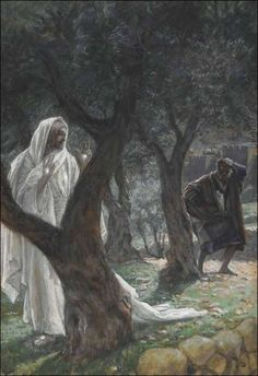 Christ Appears to Peter - Watching Holy Week Unfold with paintings by James Tissot