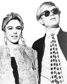 Andy Warhol & Edie Sedgwick facinate me.  Wish I knew them during the Factory days....