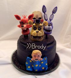 Image result for five nights at freddy's cake