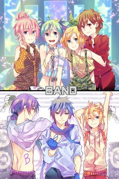 Vocaloid Girl/Boy Band
