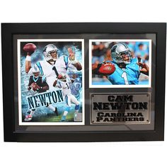 Encore Select Carolina Panthers Cam Newton Photo Stat Frame