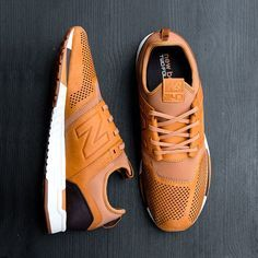 The New Balance 247 offers a new look, feel and fit, but draws inspiration from iconic New Balance models to remain grounded in the brand DNA. Limited Numbers available. Hit up a pair online now. #Lifein247