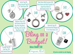 Origami Owl on a budget