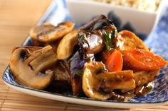 Braising is one of the best cooking methods to increase the flavor of tofu. In this particular dish, I braised the tofu in a hoisin sauce-based mixture for its caramel color and subtle sweetness. To this, I added several vegetables such as wood ear mushrooms, button mushrooms, carrots and Japanese eggplants.If you\'ve been following my culinary adventures, you know I married a vegetarian. I\'m not saying it as though it\'s a flaw, but I have to admit that when we first got married, I was a…